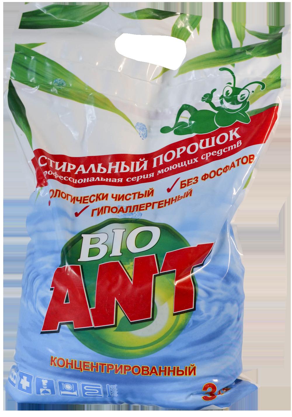 Фото 1 Стиральный порошок ANT Bio