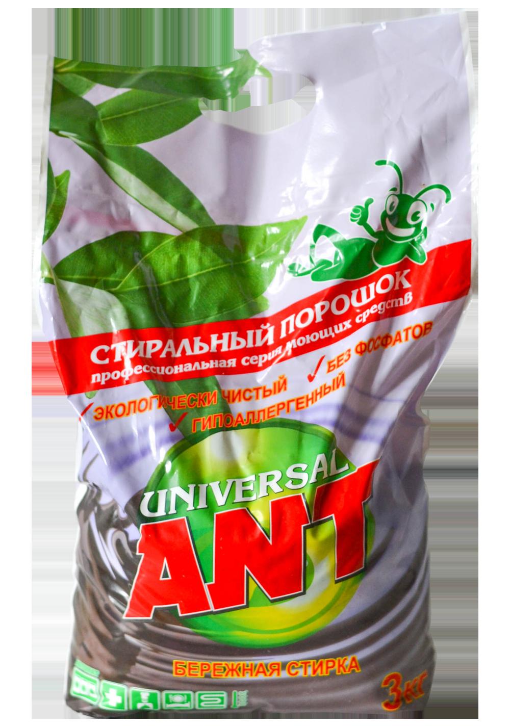 Фото 1 Стиральный порошок ANT Universal