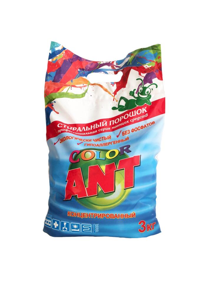 Фото 2 Стиральный порошок ANT Color
