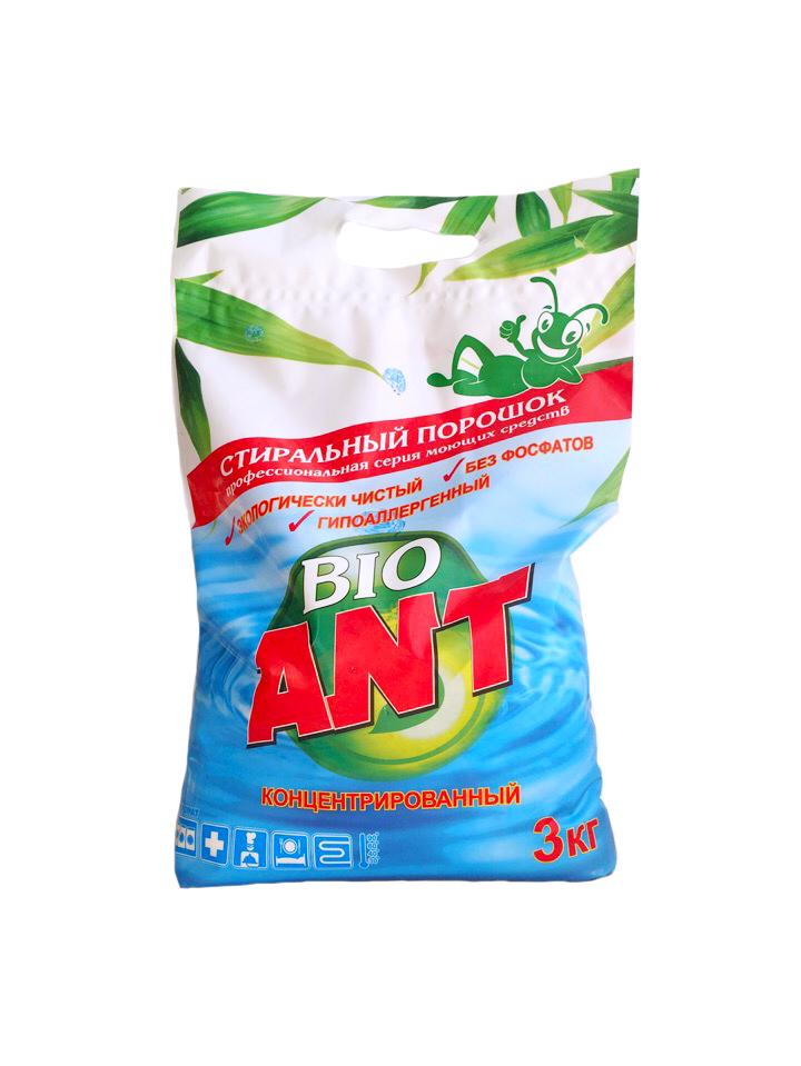 Стиральный порошок ANT Bio фото 2