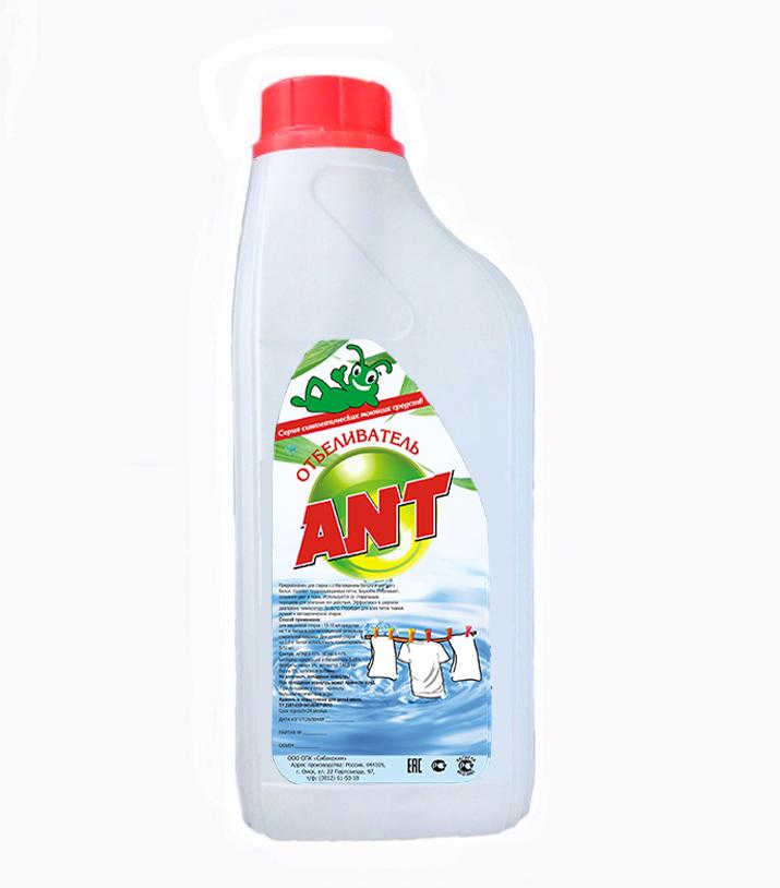 Отбеливатель жидкий ANT фото 1