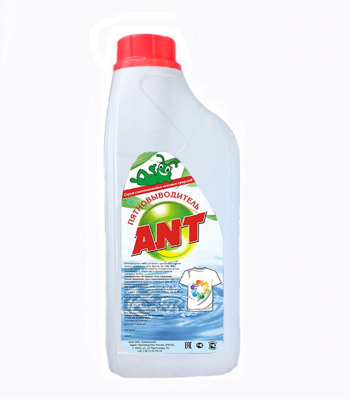 Фото 1 Пятновыводитель жидкий ANT