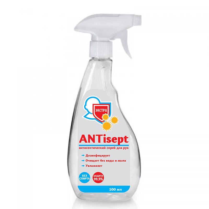 Антибактериальное средство для рук  ANTisept Экстра фото 2